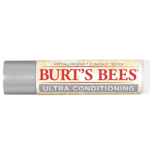 Lip Balm, Ultra Conditioning with Kokum Butter, 0.15 ounce tube of 100% natural lip balm By Burt's Bees