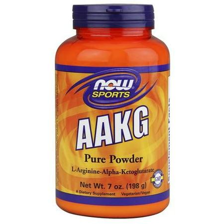 AAKG NOW PURE POUDRE Foods 7 oz poudre
