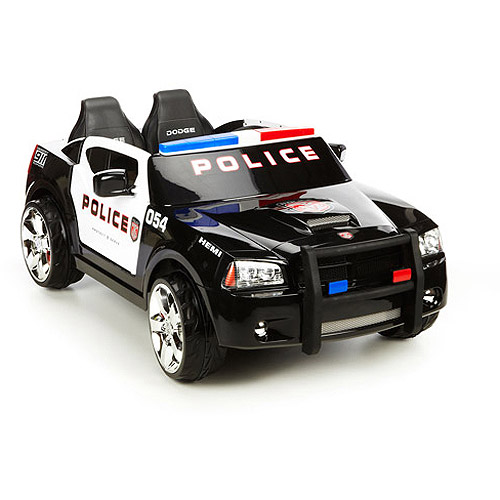 KidTrax Dodge Charger Police Cruiser Ride-On