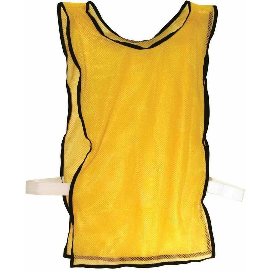 Franklin Sports 6-Pack All Purpose Yellow Training Pinnies