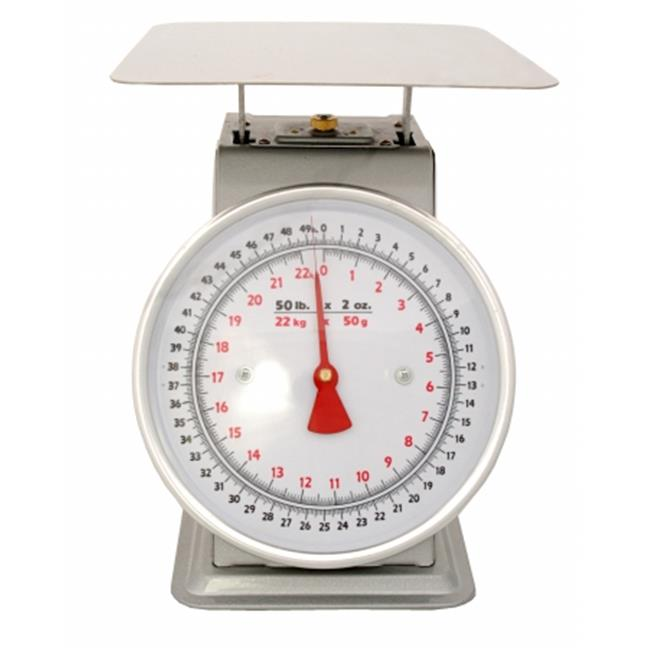 Zenport AZD100-4PK Mechanical Platform Dial Scale 100 lbs. , Box of 4