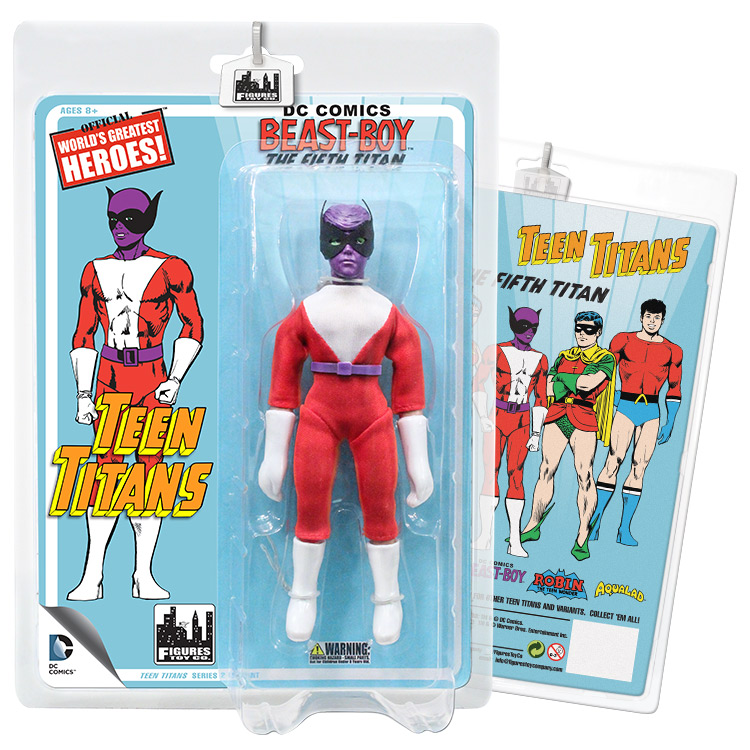 Teen Titans Retro 7 Inch Action Figures Series Two: Beast Boy (Purple Variant) by