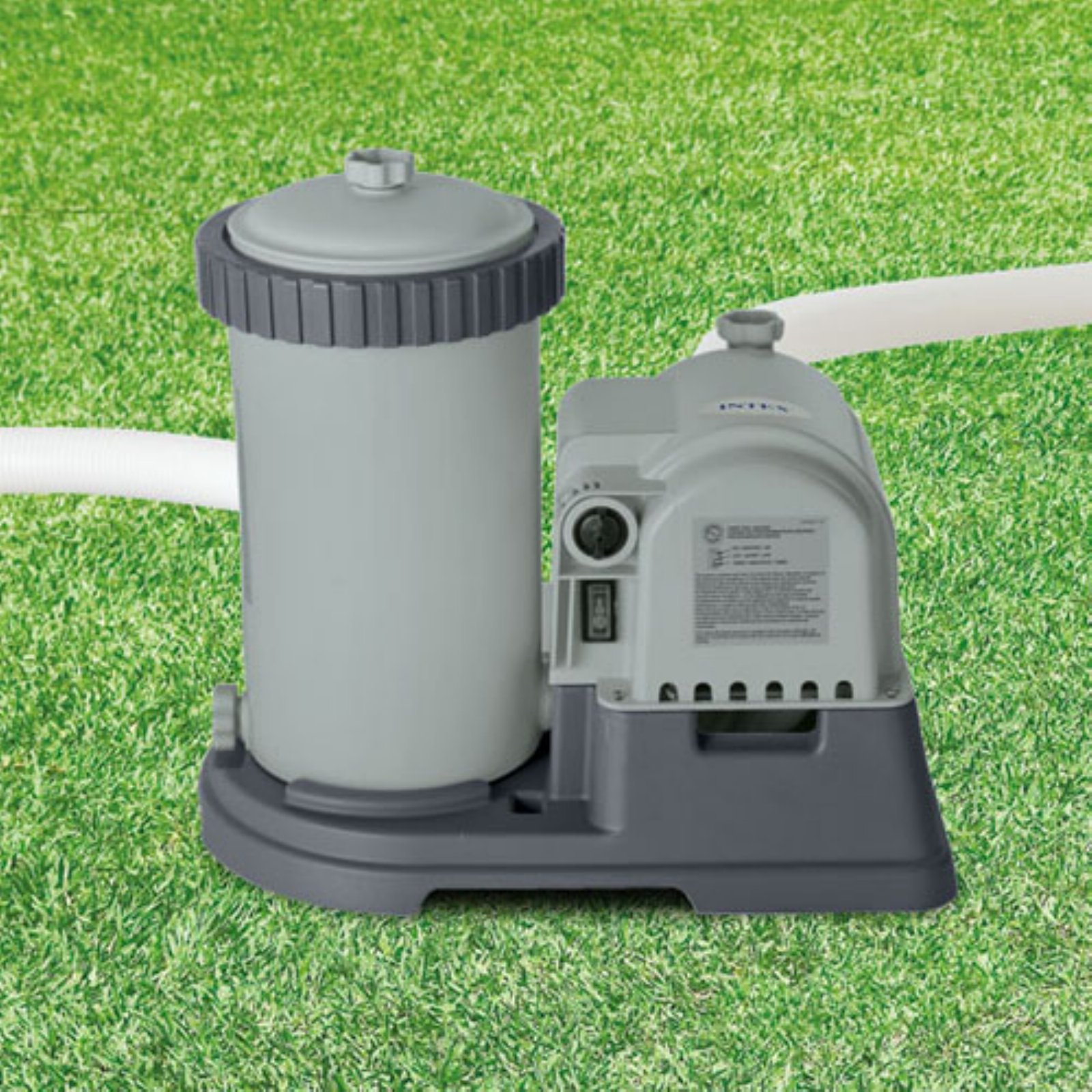 Intex 2,500 GPH Krystal Clear Cartridge Filter Pump
