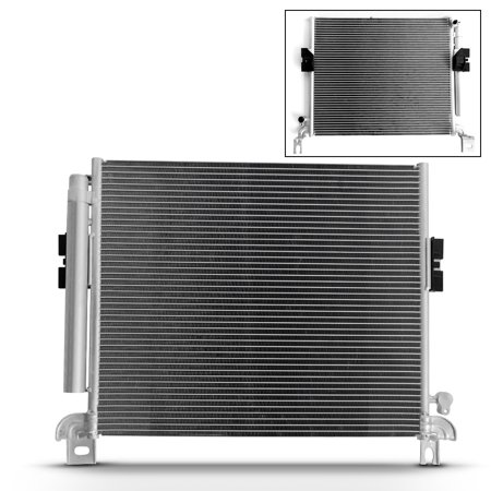 - A/C AC Condenser Aluminum 7-3393 Replacement For 2005-2012 Toyota Tacoma Pickup