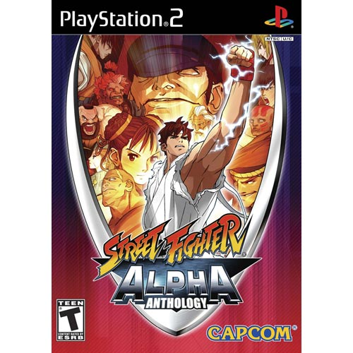 Playstation 2 - Street Fighter Alpha Anthology