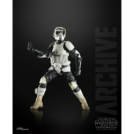 Star Wars The Black Series: Archive Biker Scout 6-Inch Scale Figure