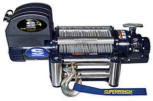 Superwinch 1612200 12500# Winch w Roller Fairlead & 15ft HH Remot by Superwinch