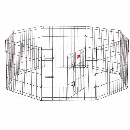 Lucky Dog™ Heavy-Duty Pet Exercise Pen with Stakes, - Pet Hard Dog