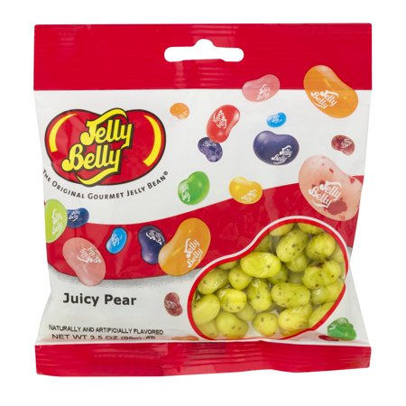 Jelly Belly, Juicy Pear Jelly Beans, 3.5 Oz