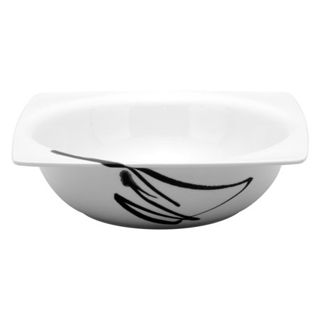 Red Vanilla Paint it Black 8.25 in. Salad - Painted Bowls