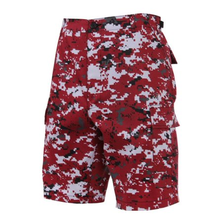 Rothco Camouflage BDU Shorts, Red Digital Camo
