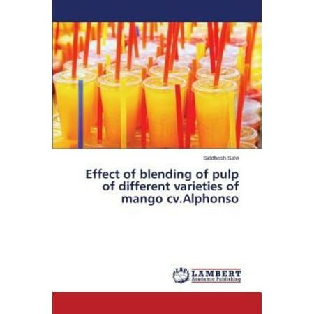 Effect Of Blending Of Pulp Of Different Varieties Of Mango Cv Alphonso
