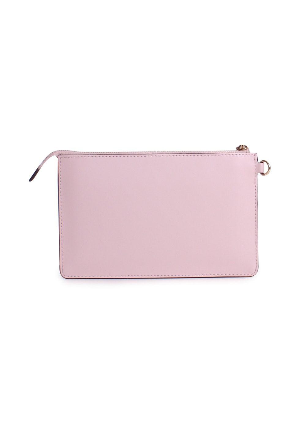 Michael Kors 32h7gfdw2o 187 Gusset Soft Pink Leather Love Wristlet Clutch Bag