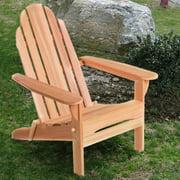 All Things Cedar Folding Adirondack Chair - Western Red Cedar