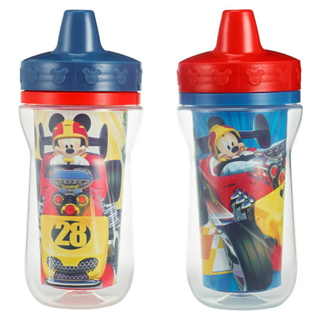The First Years Meal Mates Insulated Hard Spout Sippy Cup - Mickey Mouse, 2 pack