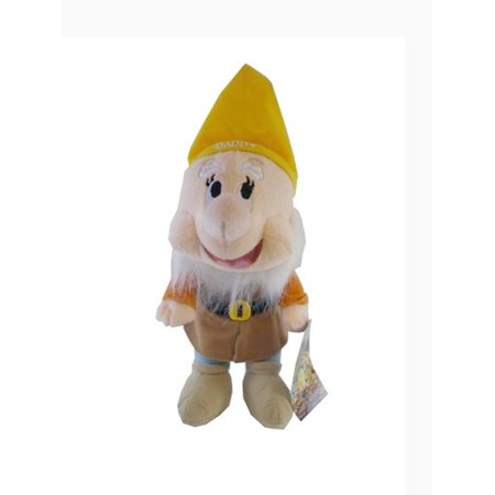 Disney's Snow White and the Seven Dwarfs Happy Plush Toy (10in)