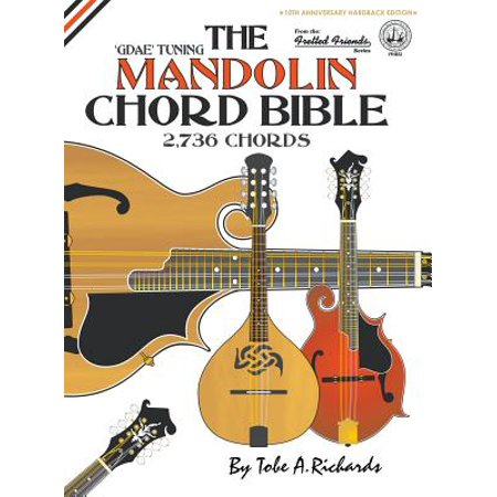 Mandolin Chord Finder - The Mandolin Chord Bible : Gdae Standard Tuning 2,736 Chords