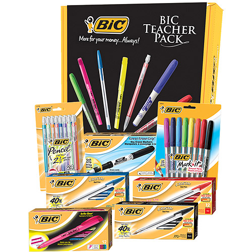 BIC 87-Piece Teacher Value Pack