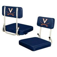 Logo Chair NCAA Virginia Hard Back Stadium Seat