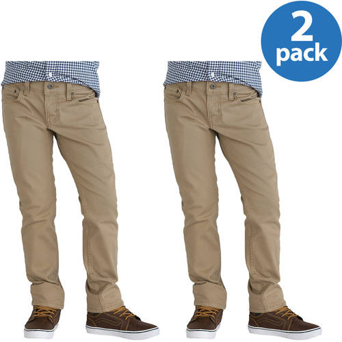 Signature by Levi Strauss & Co. Boys' Skinny Jeans 2 Pack Value Bundle