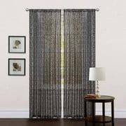 Leopard Window Curtain