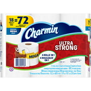 Charmin Ultra Strong Toilet Paper Mega Rolls, 308 sheets, 18 rolls