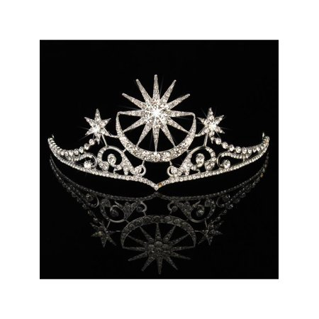 Vintage Wedding Bridal Crystal Queen Pageant Crown Tiara Headbands Prom Jewelry (Prom Queen Accessories)