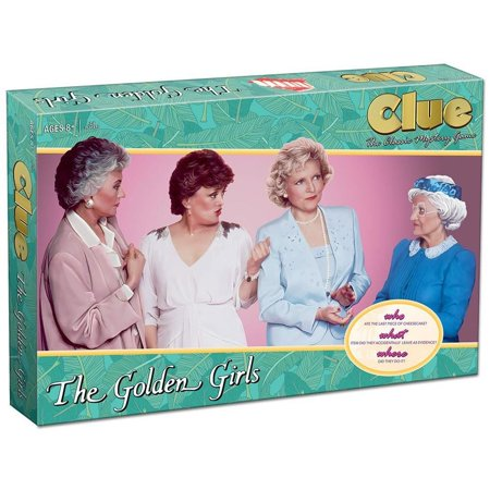 Clue  The Golden Girls Classic Mystery Board Game Hilarious Tv Show Usaopoly Cl118 506