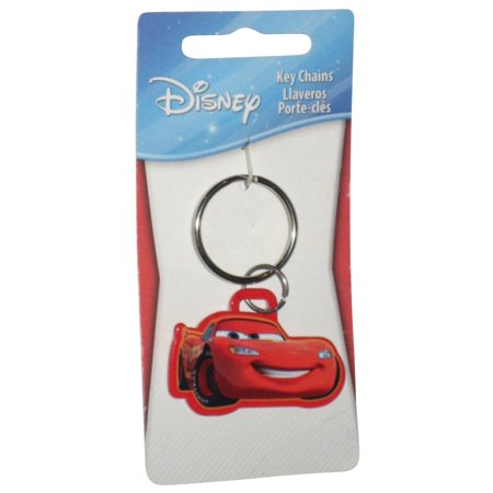 Disney Pixar Cars Lightning McQueen Metal Keychain Charm - Cool Car Keychains