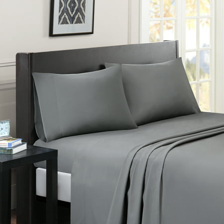 Comfort Classics Micro Splendor Solid Colored Sheet Set ()