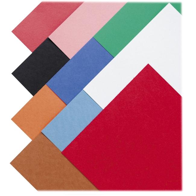 "SunWorks Construction Paper - Multipurpose - 12"" x 18"" - 50 / Pack - Assorted"