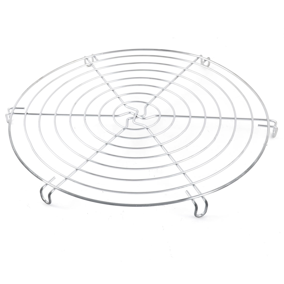 Stainless Steel Round Shape Cake Fondant Muffin Cookie Pancake Cooling Rack 30cm