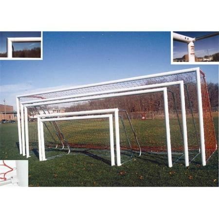 GOAL SOG1 8 x 24 Round Aluminum Soccer Goals