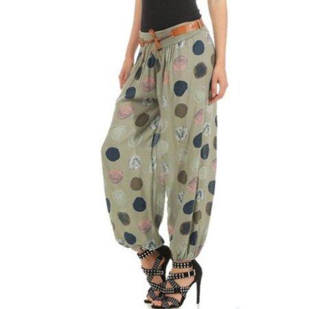 5df6499940 Womens Baggy Harem Pants Yoga Gym Dance Hippie Boho Gypsy Palazzo Trousers  - Walmart.com