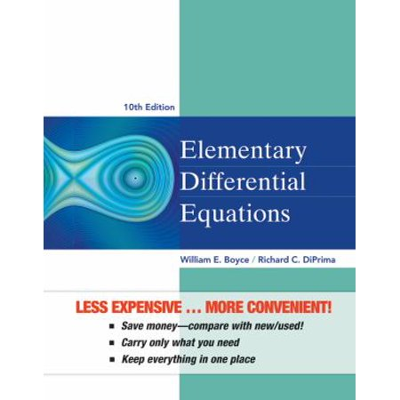 Elementary Differential Equations   Wileyplus
