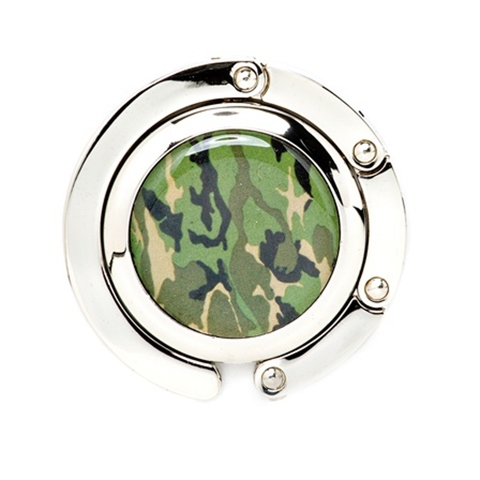 20 Pack Camouflage Print Fold-Up Purse Hook Hanger Party Gift Favor