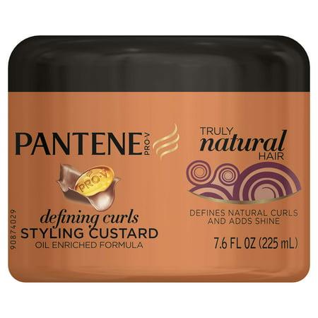 Pantene Pro V Truly Natural Hair Defining Curls Styling Custard 7 6 Fl Oz