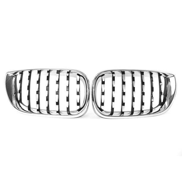 New Plating Front Dual Kidney Grill Grille Fit for BMW E46