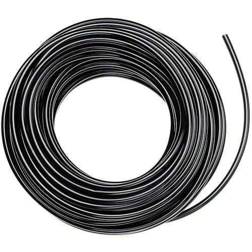 Raindrip 052010P 1/2 in X 100' Black Poly Drip Watering Hose