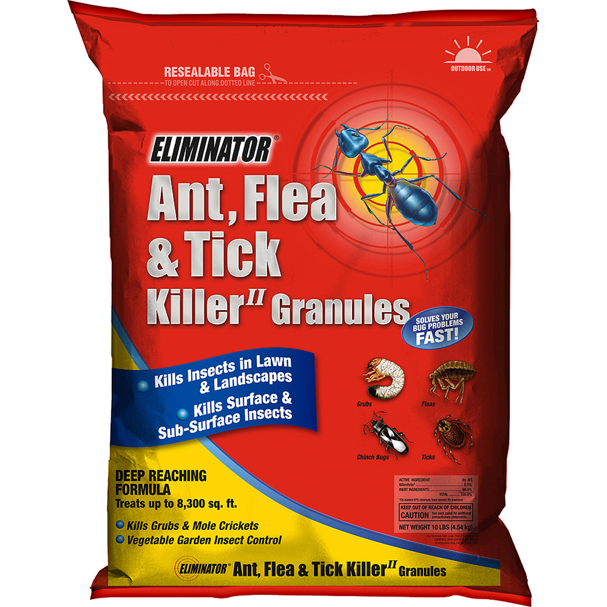 Flea killer for yard