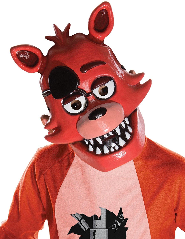five nights at freddy s child half costume mask foxy
