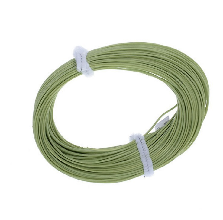 100FT Weight Forward Floating Fly Fishing Line 8F Fly Line with Loop Color:Green Size:8f by