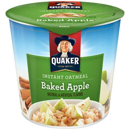 Quaker Baked Apple Instant Oatmeal, 1.9 oz - Walmart.com