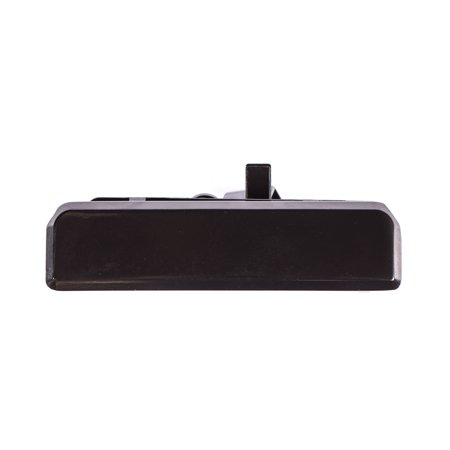 Rear Smooth Black Door Handle for 85-05 Chevrolet Astro, GMC Safari GM1820104