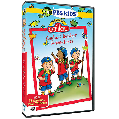 The Best Of Caillou: Caillou's Outdoor Adventures