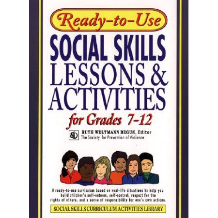 Ready-To-Use Social Skills Lessons and Activities for Grades 7 - (Social Skills Videos)