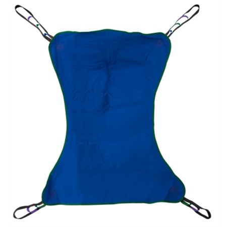 Solid Full Body Sling, Patient Lift Sling, Large Size, 4 or 6 Points, 600 lb. Capacity, Without Head Support