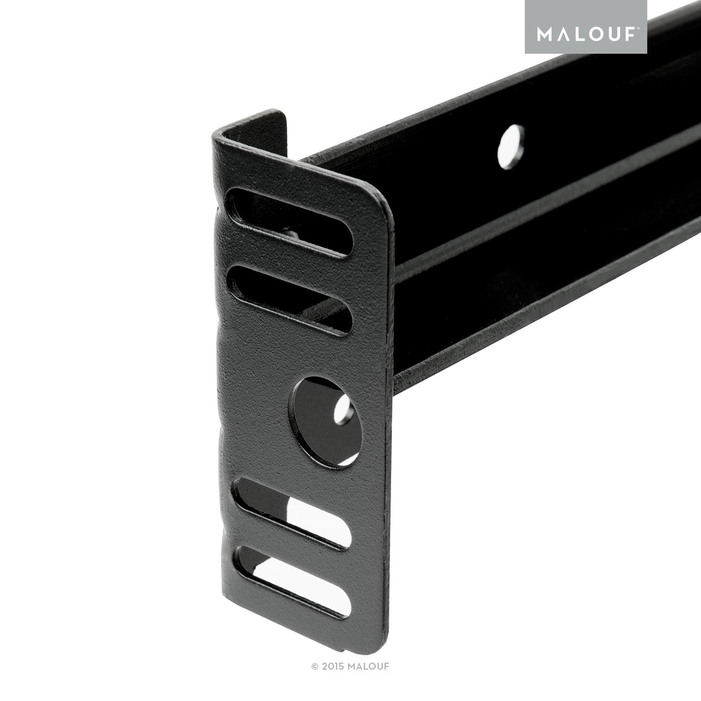 Structures 6-Leg Adjustable Metal Bed Frame, Full/Twin - Walmart.com
