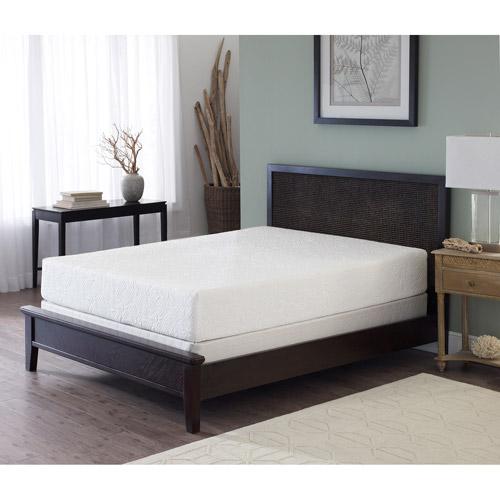 "Sleep Inc. Intuition 10"" Memory Foam Mattress, Multiple Sizes"