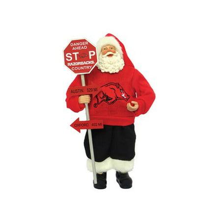 Santa's Workshop NCAA Country Claus Figurine - Ncaa Rivalry Figurine